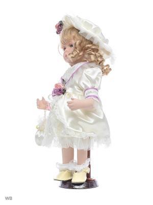 Кукла фарфор 12 Лея Angel Collection. Цвет: белый