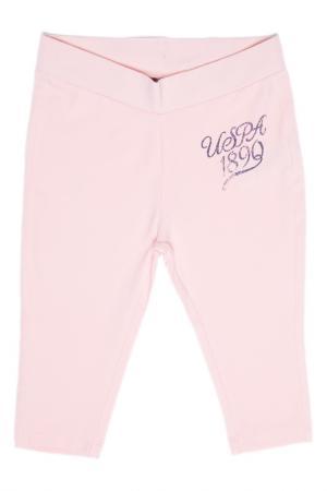 Брюки спортивные U.S. Polo Assn.. Цвет: pb0135 розовый