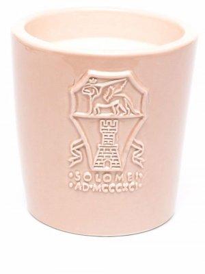Logo-engraved ceramic candle Brunello Cucinelli. Цвет: розовый