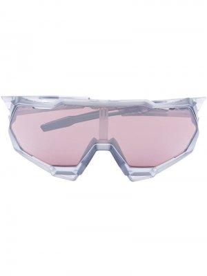 Солнцезащитные очки Speedtrap 100% Eyewear. Цвет: серый