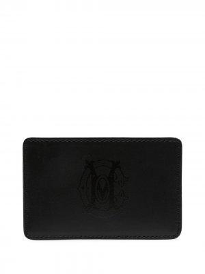 Картхолдер с логотипом Marcelo Burlon County of Milan. Цвет: черный