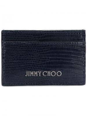 Визитница Dean Jimmy Choo. Цвет: черный