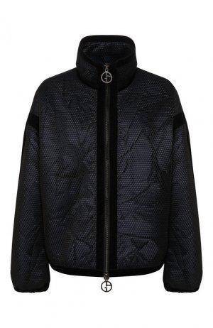 Куртка Giorgio Armani. Цвет: чёрный