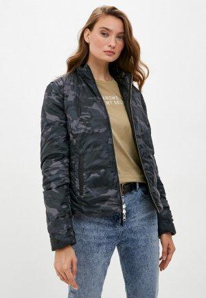 Куртка кожаная Blouson SINDEE. Цвет: разноцветный