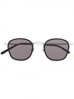 Солнцезащитные очки в квадратной оправе Waiting For The Sun. Цвет: черный