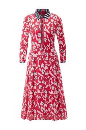 Платье Madeleine. Цвет: multicolor
