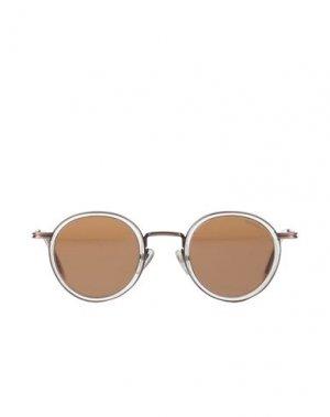 Солнечные очки KOMONO. Цвет: хаки
