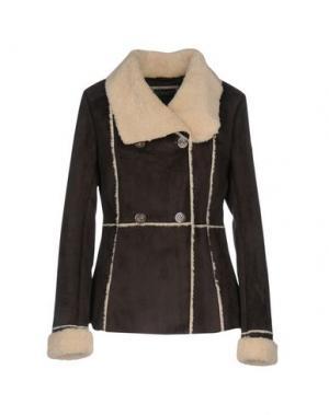 Куртка ROMEO GIGLI SPORTIF. Цвет: темно-коричневый