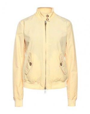 Куртка BARACUTA. Цвет: желтый