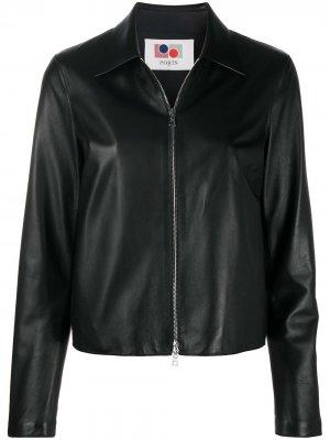Куртка с контрастной строчкой Ports 1961. Цвет: черный