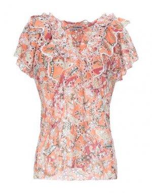 Блузка ANTIK BATIK. Цвет: лососево-розовый