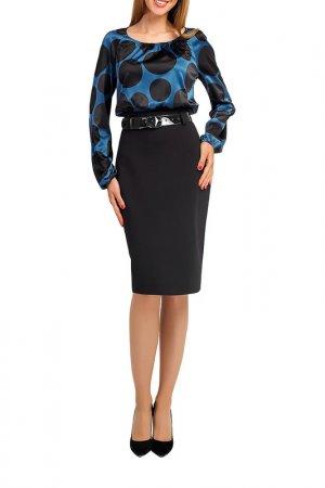Платье Giulia Rossi. Цвет: черный горох