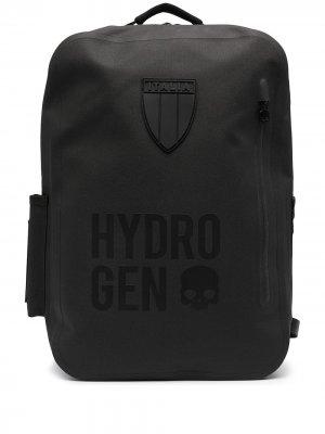 Рюкзак с логотипом Hydrogen. Цвет: черный