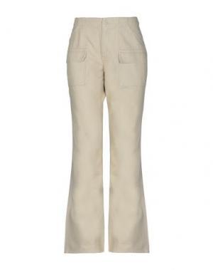 Повседневные брюки GAP. Цвет: бежевый