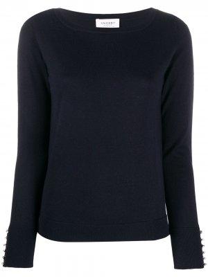Пуловер с кристаллами Swarovski Snobby Sheep. Цвет: синий