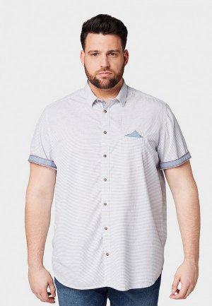 Рубашка Tom Tailor. Цвет: белый