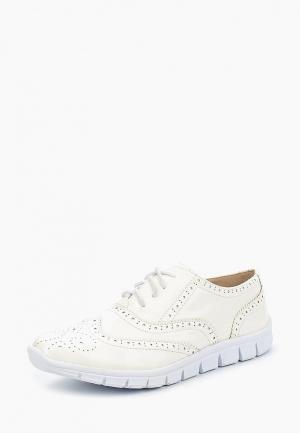 Ботинки PTPT. Цвет: белый