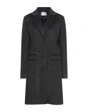 Пальто FRACOMINA. Цвет: черный