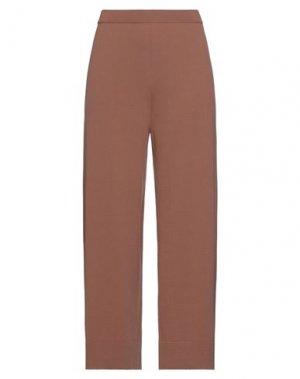 Повседневные брюки CLIPS. Цвет: коричневый