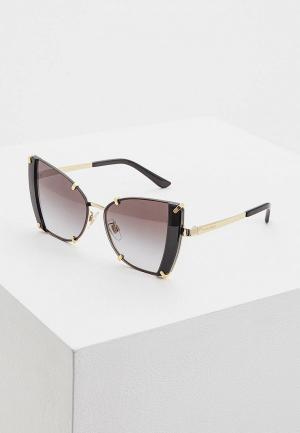 Очки солнцезащитные Dolce&Gabbana DG2214 02/8G. Цвет: золотой