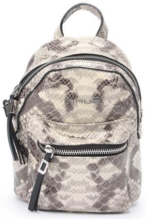 Сумка-рюкзак женский INNUE. Цвет: бежевый, мультиколор