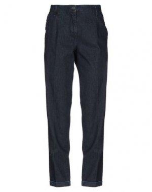 Джинсовые брюки VIA MASINI 80. Цвет: синий