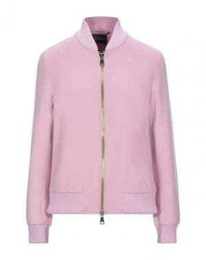 Куртка HERESIS. Цвет: розовый