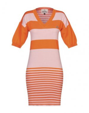 Короткое платье VIVIENNE WESTWOOD. Цвет: оранжевый