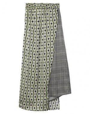 Длинная юбка EMMA & GAIA. Цвет: светло-зеленый