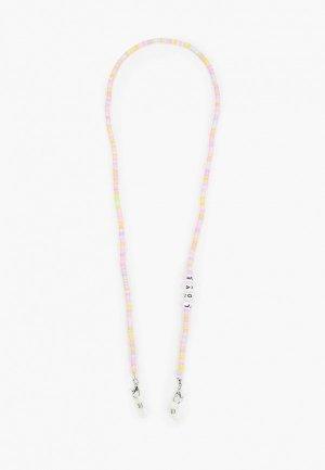 Цепочка для очков Hatparad BUBBLE GUM. Цвет: разноцветный