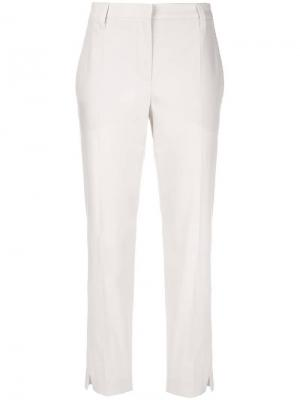 Классические брюки чинос кроя слим Brunello Cucinelli
