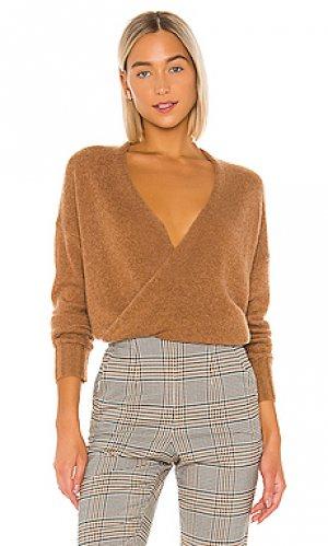 Облегающий свитер karlie 360CASHMERE. Цвет: коричневый