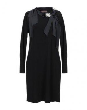 Короткое платье COCCAPANI TREND. Цвет: черный