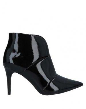 Полусапоги и высокие ботинки AREZZO. Цвет: черный