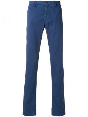 Классические брюки-чинос Jacob Cohen. Цвет: синий