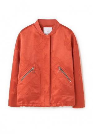 Куртка Mango - DUKE. Цвет: красный