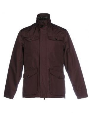 Куртка ADHOC. Цвет: баклажанный
