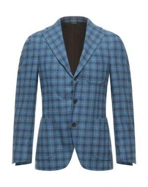 Пиджак GABO Napoli. Цвет: лазурный