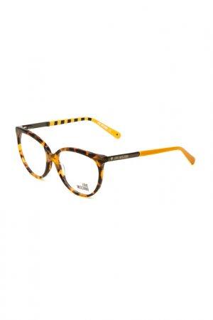 Оправа корригирующая Moschino. Цвет: 02 черепаховый, желтый