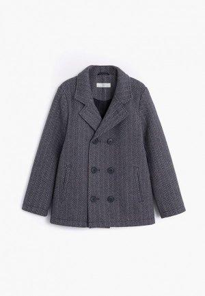 Пальто Mango Kids - BALVIN. Цвет: серый