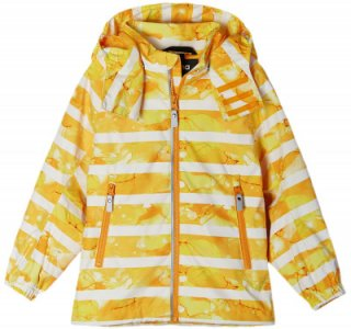 Ветровка для мальчиков Fasarby, размер 116 Reima. Цвет: желтый