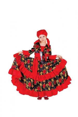 Карнавальный костюм Страна Карнавалия. Цвет: красный