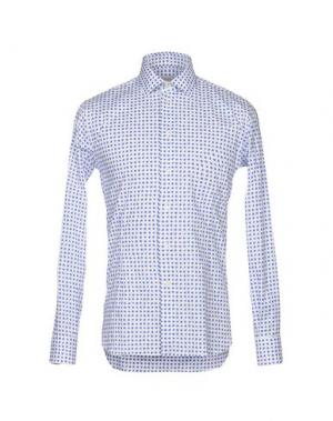 Pубашка BRANCACCIO. Цвет: синий