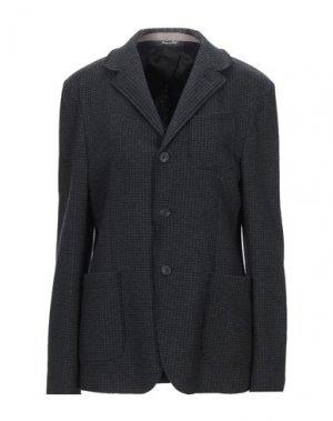 Пиджак RODA. Цвет: стальной серый