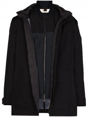 Куртка в стиле милитари Z Zegna. Цвет: черный