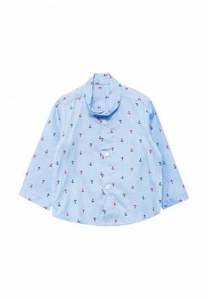 Рубашка Frizzzy. Цвет: голубой