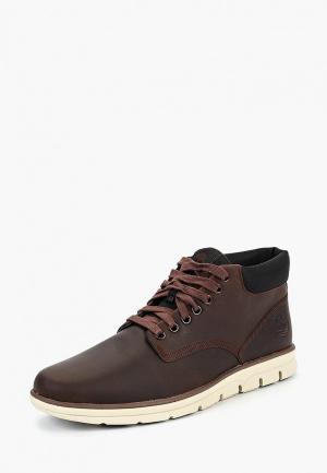 Ботинки Timberland BRADSTREET CHUKKA LE POTTING SOIL. Цвет: коричневый