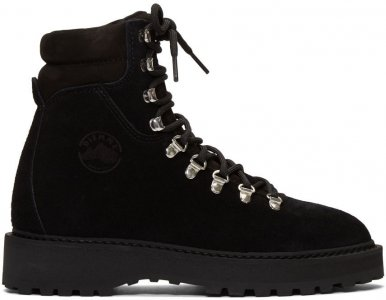 Black Suede Monfumo Boots Diemme. Цвет: black suede