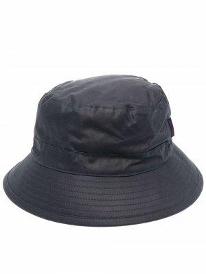Wax cotton bucket hat Barbour. Цвет: синий