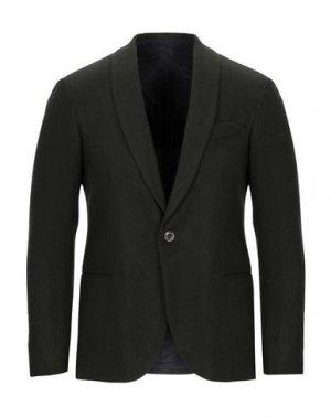 Пиджак 26.7 TWENTYSIXSEVEN. Цвет: зеленый-милитари